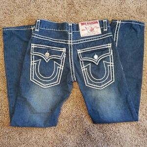 True Religion Jeans Joey Super T Double Stitch